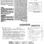 Alésia Cosmos - extraits de presse