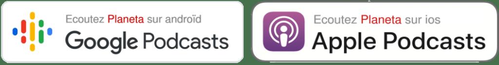 Ecoutez Planeta sur ios et androïd - Apple Podcasts - Google Podcasts