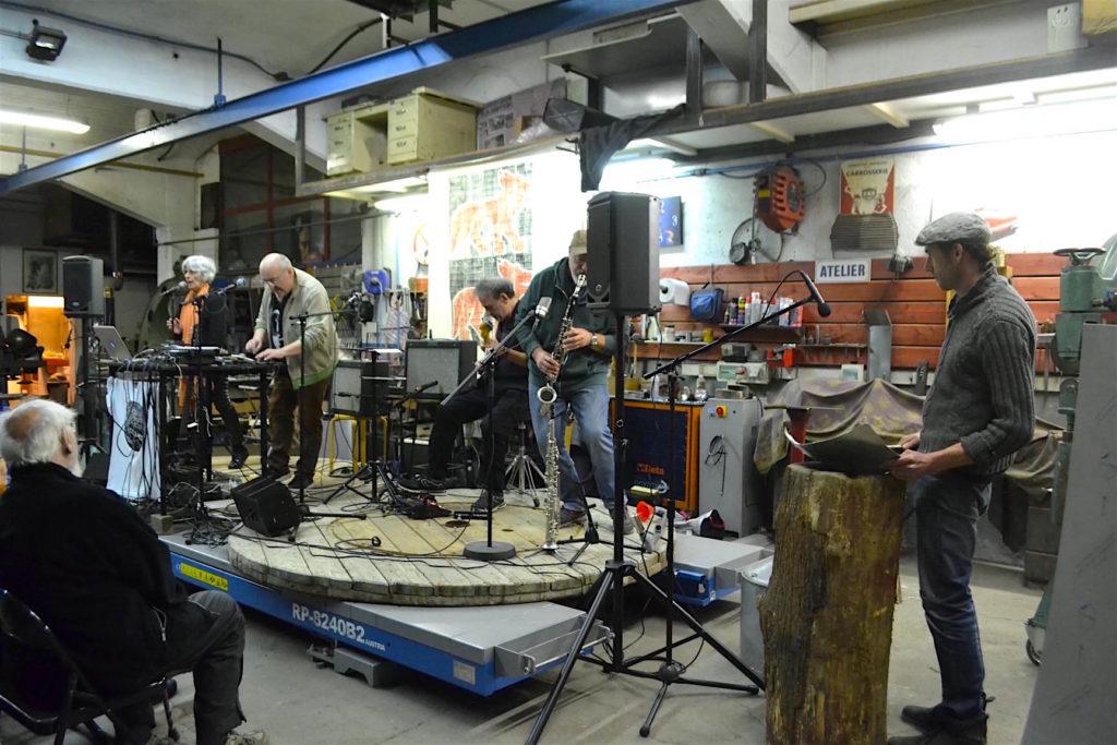 Alesia Cosmos en concert au Garage